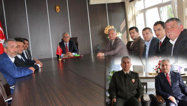 MHP yeni yönetimi ziyaretlere başladı