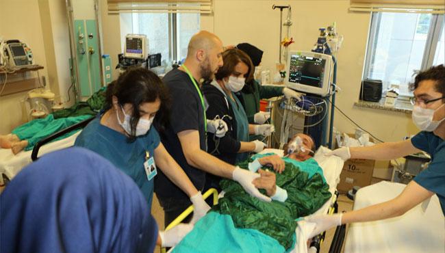 Hastanede Kimyasal Patlama