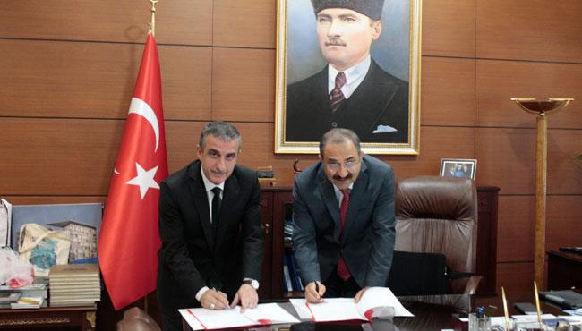 Valilik ile TTK arasında protokol imzalandı