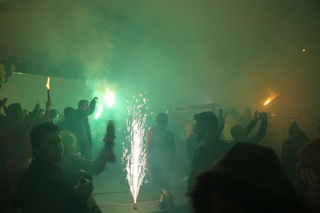 Fenerbahçe'nin Avrupa Şampiyonluğu Ereğli'de coşkuyla kutlandı