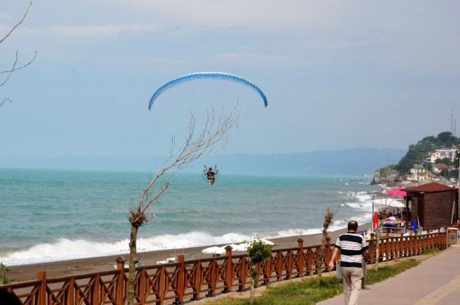 Ramazan ayında Akçakoca sahilleri boş kaldı