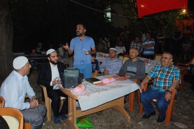 Hasbeyliler iftar programında bir araya geldi