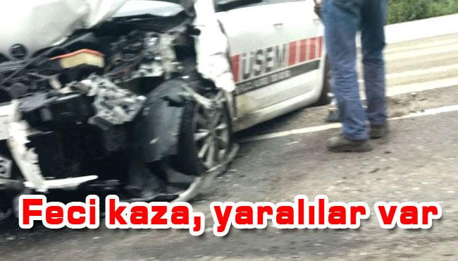 Feci kaza yaralılar var