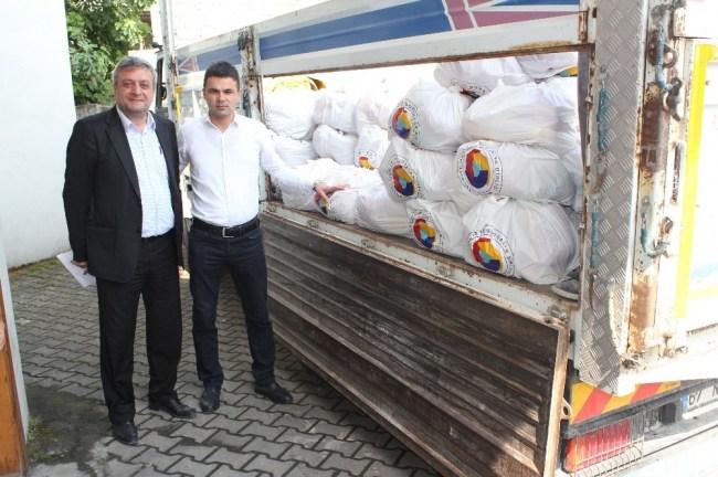 TSO' dan  ihtiyaç sahiplerine gıda yardımı