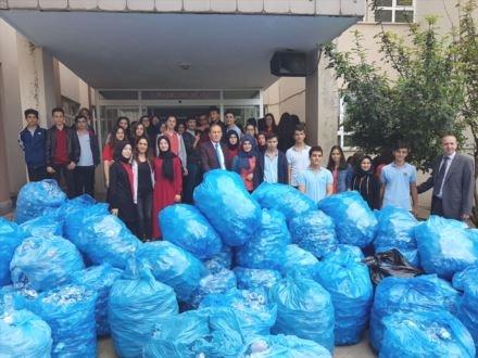 Öğrencilerden sosyal sorumluluk projesi