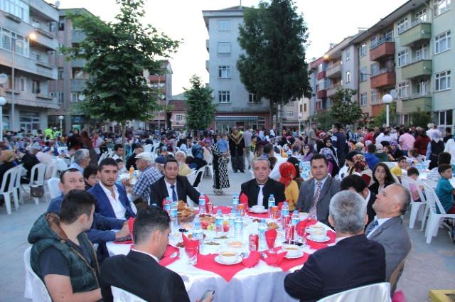 Şehit Aileleri ve Gaziler için iftar programı düzenledi