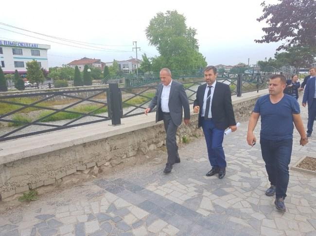 Asar deresine Mostar köprüsünün benzeri yapılacak