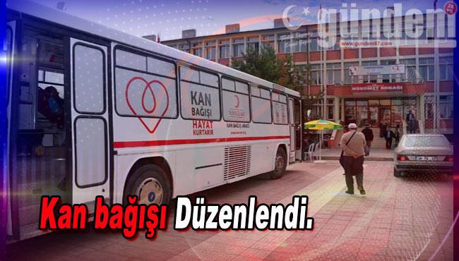 Zonguldak'ta kan bağışı