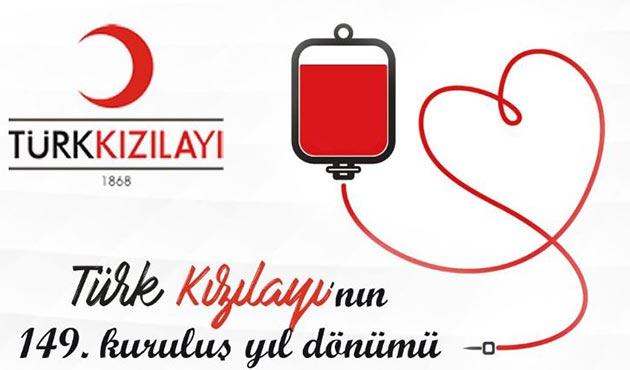 Türk Kızılayının 149. kuruluş yıl dönümü