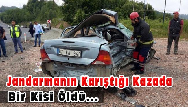Jandarmanin Karıştığı Kazada Bir Kisi Öldü.