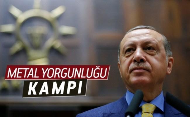 Cumhurbaşkanı Erdoğan, AK Parti'yi kampa alıyor.