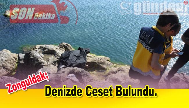 Zonguldak'ta denizde ceset bulundu