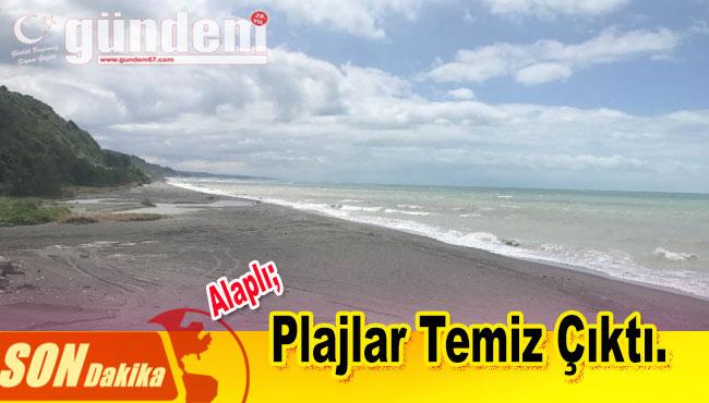 Belediye Denetimde Plajlar Temiz Çıktı
