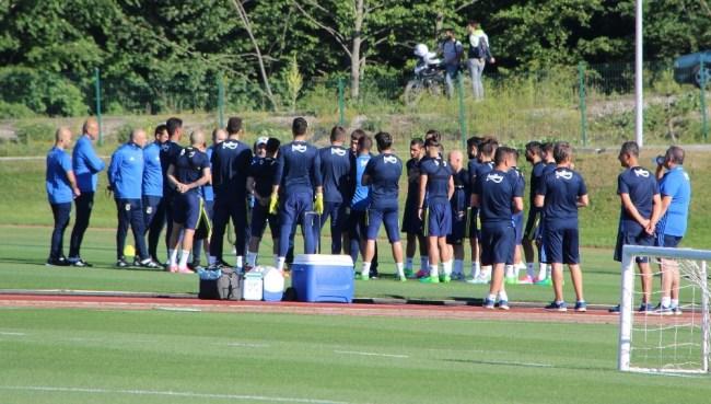 Fenerbahçe,Topuk Yaylası'da ilk Antrenmanını Yaptı