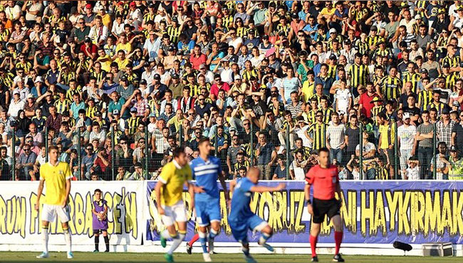 Düzcespor'a Fenerbahçe bereketi