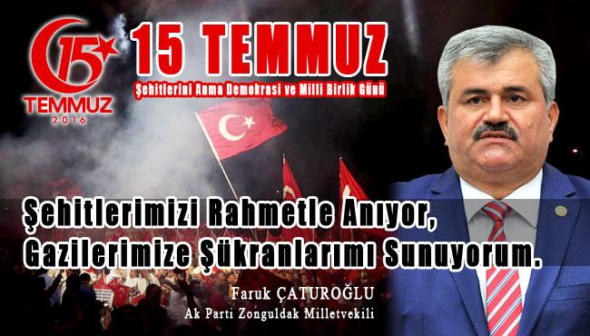 '15 Temmuz Demokrasi ve Milli Birlik Günü'