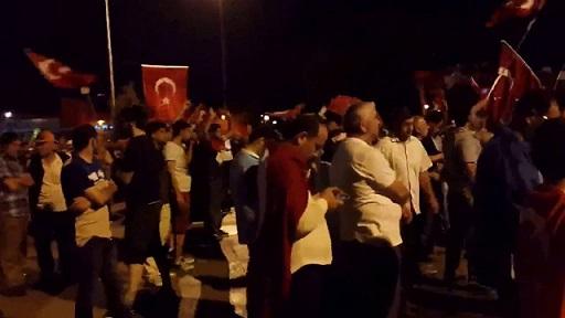 Anıtpark Meydanında Milli Birlik Günü dolayısıyla etkinlik