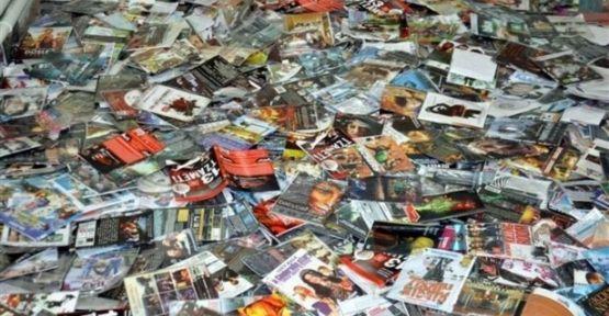 Düzce'de Evde korsan CD operasyonu