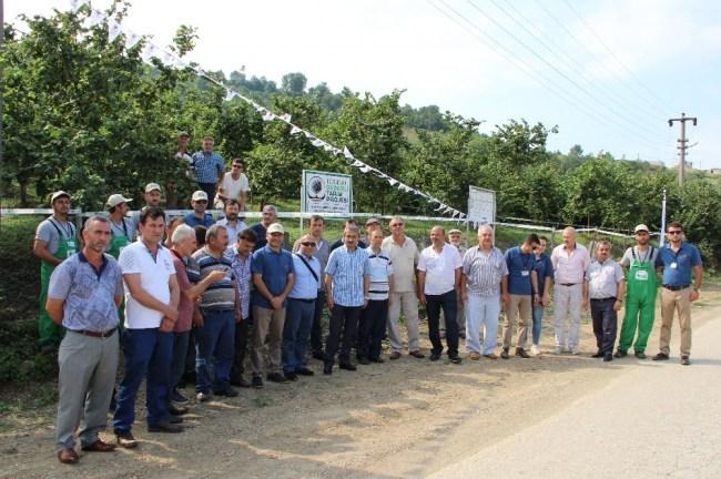 Ferrero Fındık çiftçileri bilgilendirme
