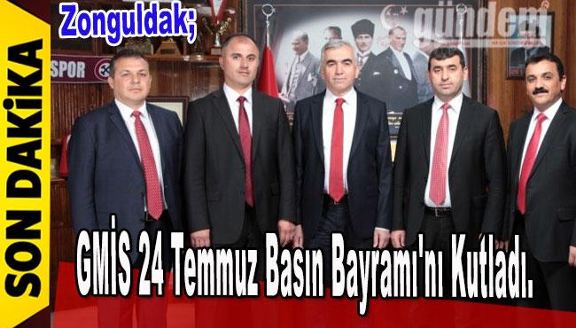 GMİS 24 Temmuz Basın Bayramı'nı kutladı.