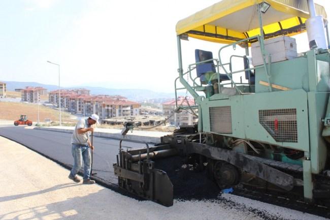 Safranbolu Belediyesi tarafından Yol Çalışmaları