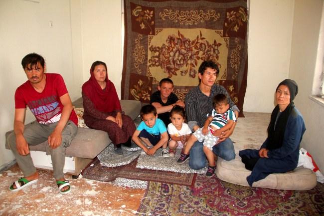 Afgan Aileye Zonguldak'ta Sıcak İlgi