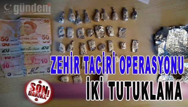 Ereğli'de Zehir Taciri operasyonu İki Tutuklama