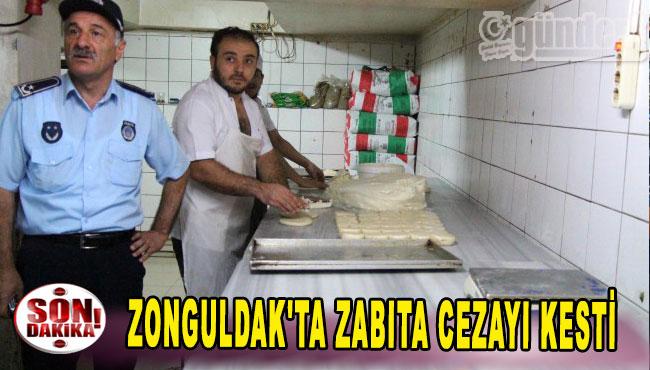 Zonguldak'ta Zabıta Cezayı Kesti