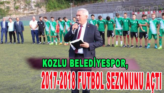 Kozlu Belediyespor, 2017-2018 futbol sezonunu açtı