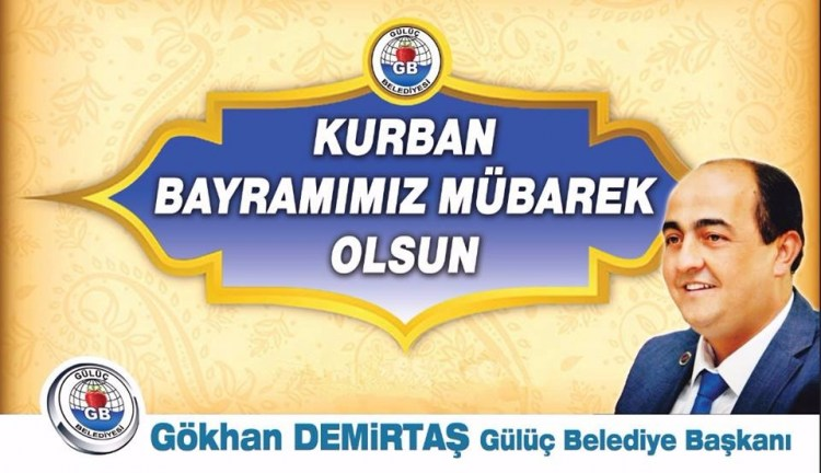 GÖHKAN DEMİRTAŞ BAYRAM TEBRİĞ...