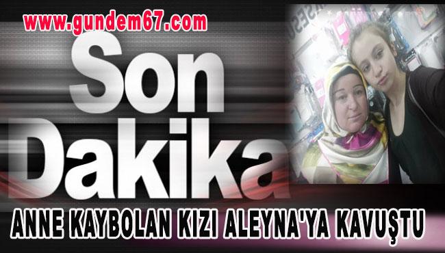 Anne Kaybolan Kızı Aleyna'ya Kavuştu