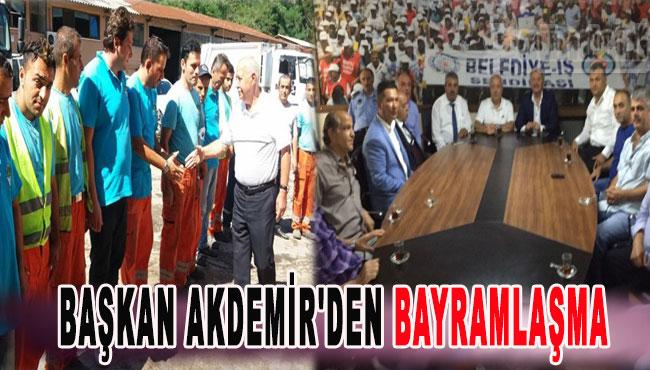 Başkan Akdemir'den Bayramlaşma