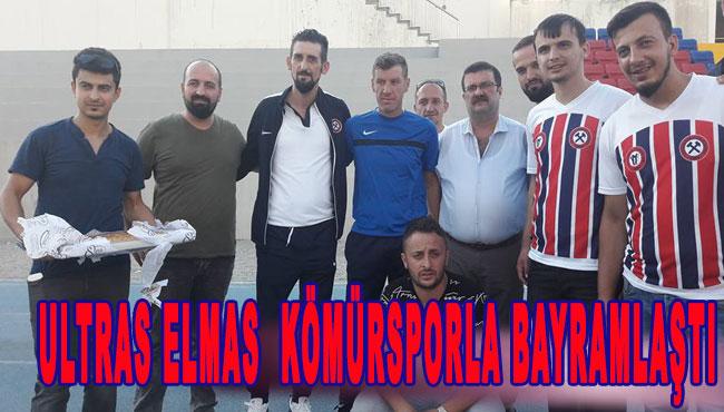 Ultras Elmas Kömürsporla bayramlaştı