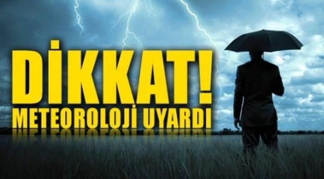 Meteoroloji'den Zonguldak Dahil 14 İle Yağış Uyarısı