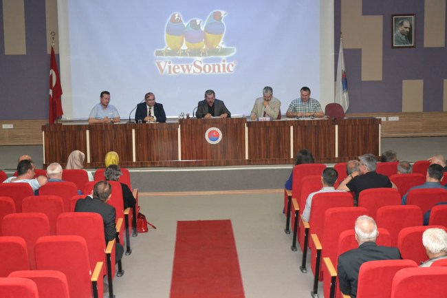 Karabük Belediyesi eylül ayı meclis toplantısı