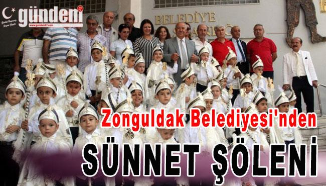 Zonguldak Belediyesi'nden Sünnet Şöleni