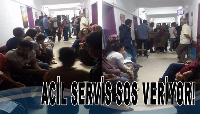 Acil servis SOS veriyor!