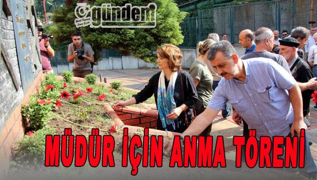 Zonguldak'ta Müdür için ama töreni