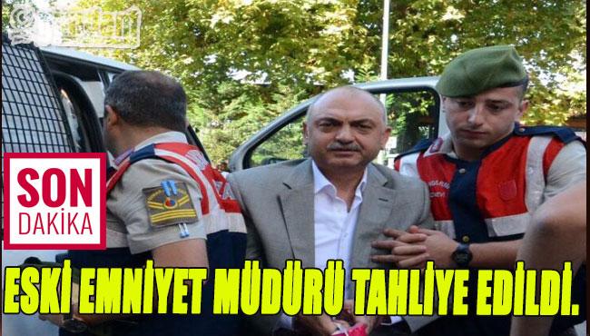 Zonguldak'ta Eski Emniyet Müdürü Tahliye Edildi