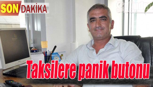Ereğli'de Taksilere panik butonu