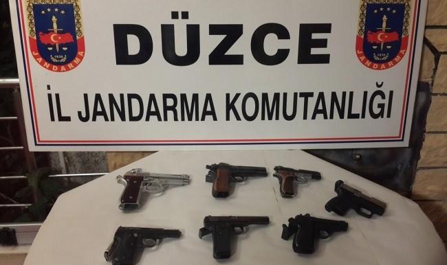 Jandarmadan silah kaçakçılığı operasyonu 7 şüpheli