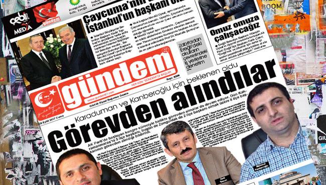 29 Eylül 2017 Gündem Gazetesi