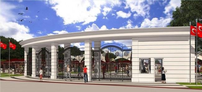 Akçakoca'da 15 Temmuz Şehitleri Parkı inşaatı