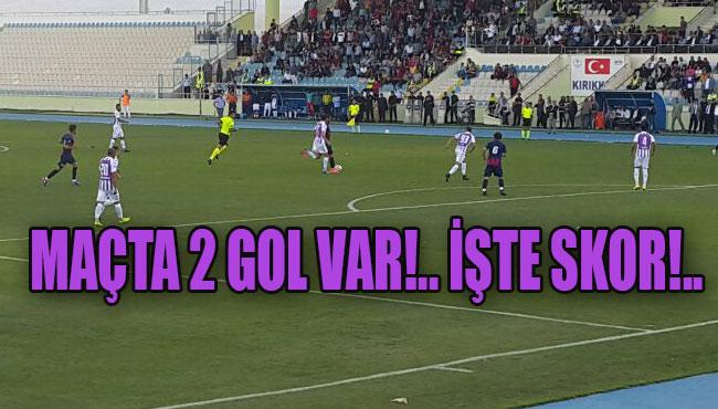 Maçta 2 gol var!.. İşte Skor!..
