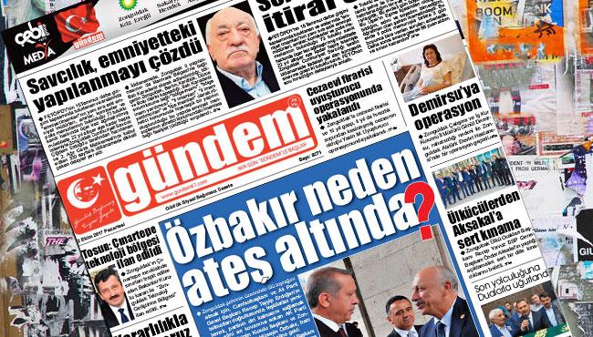 02 Ekim 2017 Gündem Gazetesi