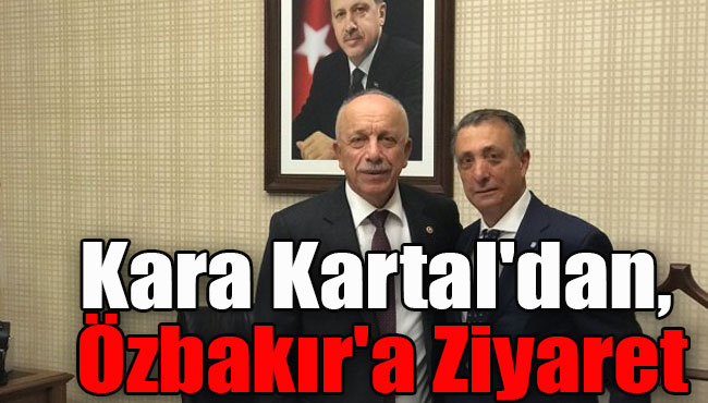Kara Kartal'dan, Özbakır'a ziyaret