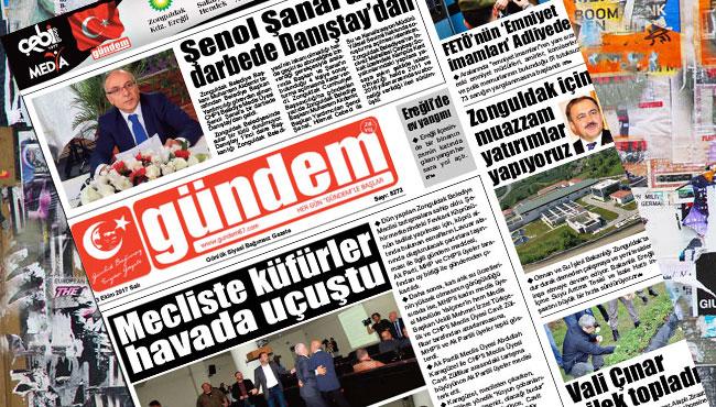 03 Ekim 2017 Gündem Gazetesi