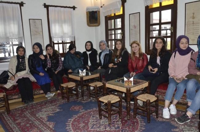 Amasra ve Safranbolu'ya kültürel hareketlilik ziyareti