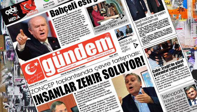 04 Ekim 2017 Gündem Gazetesi
