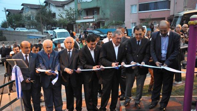 Karabük'te park açılışı